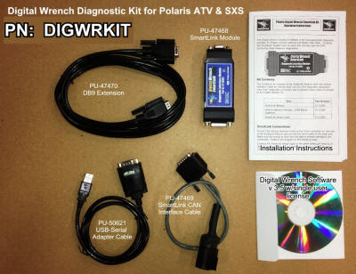 Digital Wrench Diagnostic Software & Cables - PN: DIGWRKIT