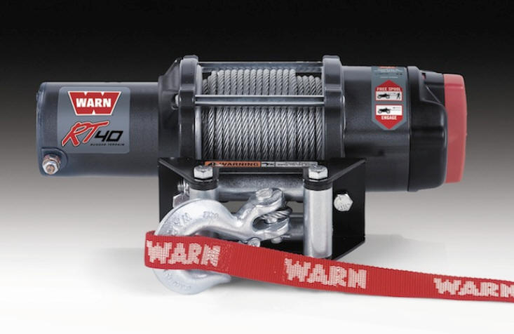 Warn RT 4.0 Winch for Can-Am Maverick