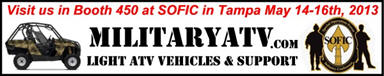 See us at the NDIA 2013 SOFIC (Special Operations Forces Industry Conference)